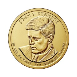 USA $1 Dollar John. F. Kennedy 2015