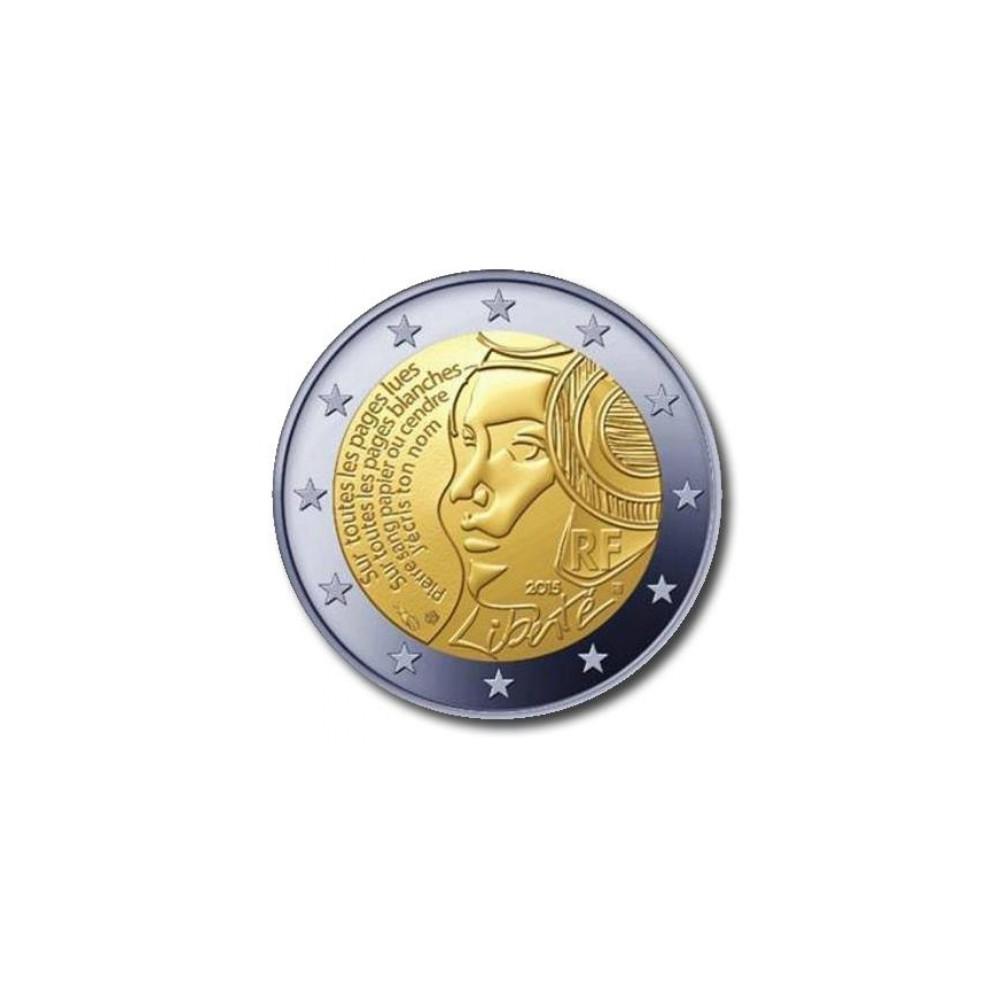Frankrijk 2 euro 2015 '225 Jaar Nationale Feestdag'