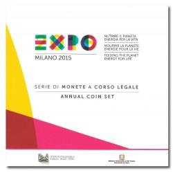 Italië BU-set 2015 + speciale 2 euro 2015 'Expo Milan'