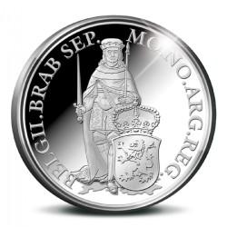 Koninkrijksmunten Nederland Zilveren dukaat 2015 'Noord-Brabant'