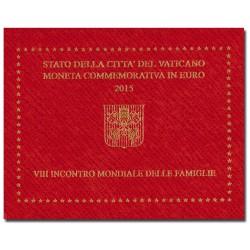 Vaticaan 2 euro 2015 in blister 'Wereld Familie Dag'