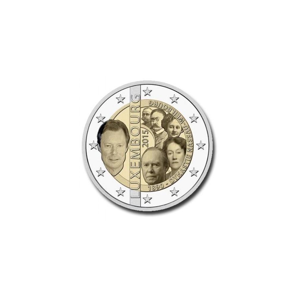 Luxemburg 2 euro 2015 'Dynastie'