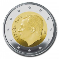 Spanje 2 euro 2015 'Felipe' circulatiemunt