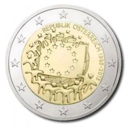 Oostenrijk 2 euro 2015 '30 jaar Europese vlag'