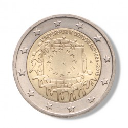 Duitsland 2 euro 2015 '30 jaar Europese vlag' - willekeurige letter