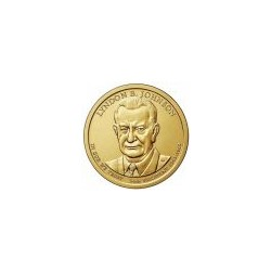 USA $1 Dollar Lyndon Johnson 2015