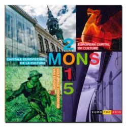 Belgie BU-Set 2015 'Mons - culturele hoofdstad Europa'