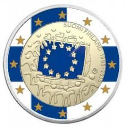 Finland 2 Euro 2015 '30 jaar Europese Vlag' in kleur