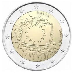 Malta 2 euro 2015 '30 jaar Europese vlag'