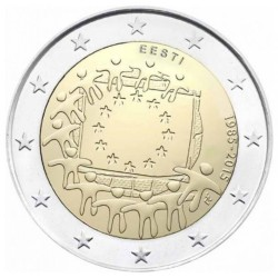 Estland 2 euro 2015 '30 jaar Europese vlag'