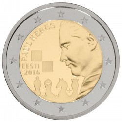 Estland 2 euro 2016 'Paul Keres'