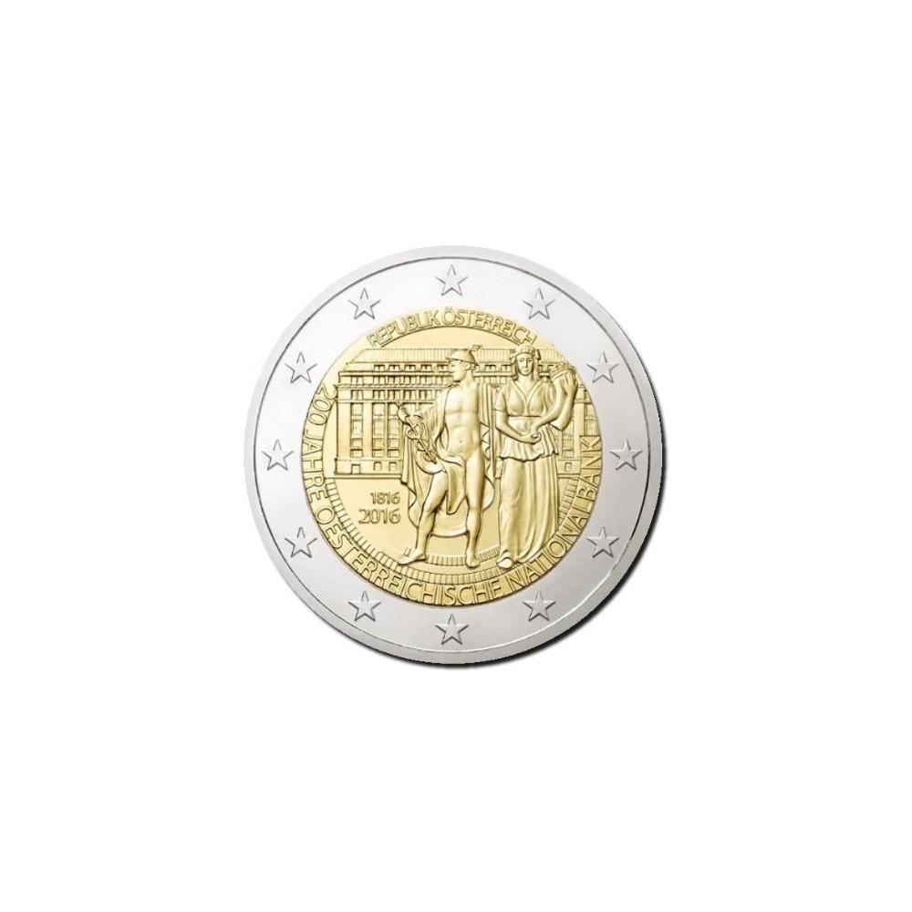 Oostenrijk 2 euro 2016 'Nationale Bank 200 jaar'