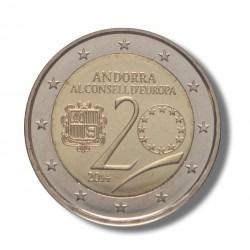 Andorra 2 euro 2014 'Raad van Europa'