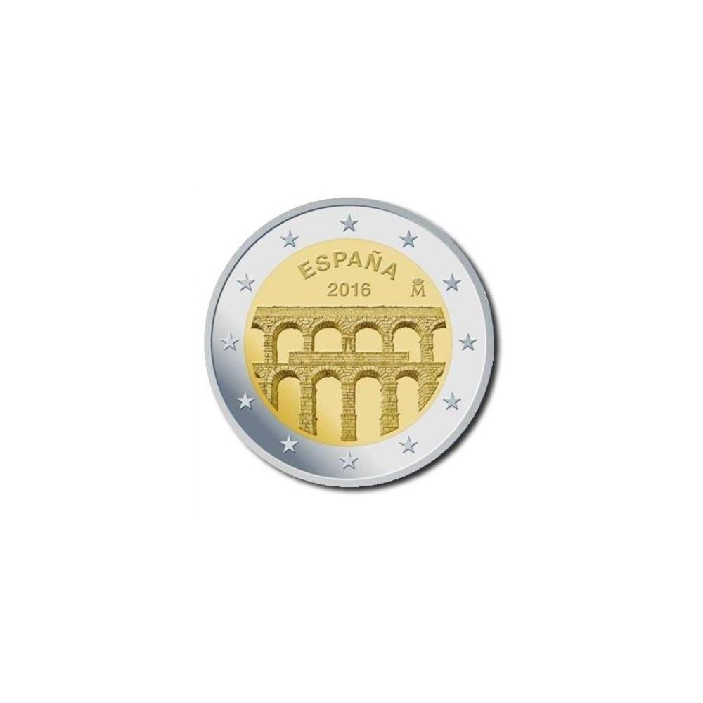 Spanje 2 euro 2016 'Aquaduct Segovia'
