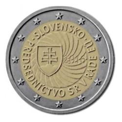 Slowakije 2 euro 2016 'Voorzitter EU'