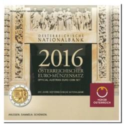 Oostenrijk BU-Set 2016 '200 Jaar Oesterreichische National Bank'