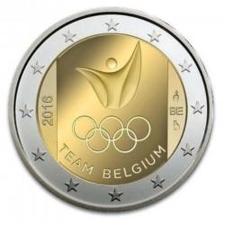 België 2 euro 2016 'Olympische spelen Rio de Janeiro'