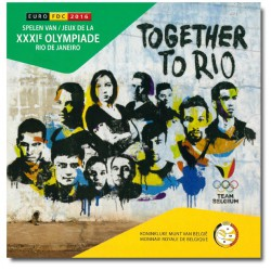 Belgie BU-Set 2016 'Olympische spelen Rio de Janeiro'