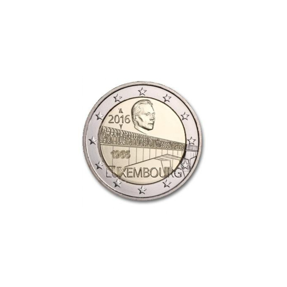 Luxemburg 2 euro 2016 'Charlottebrug'