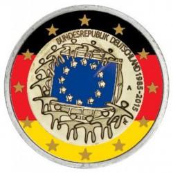 Duitsland 2 Euro 2015 '30 jaar EU vlag' in kleur