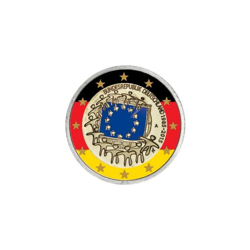 T1 Duitsland 2015 - 2 euro '30 jaar EU vlag', willekeurige letter