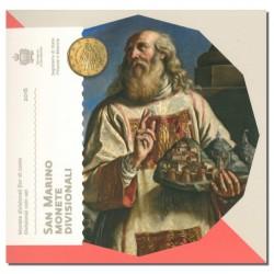 San Marino BU-Set 2016 (Set zonder 5€)