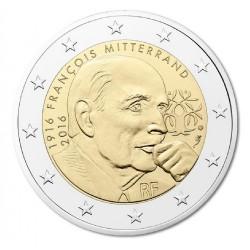 Frankrijk 2 euro 2016 'Francois Mitterrand'