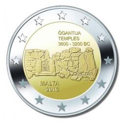 Malta 2 euro 2016 'Ggantija Tempels' zonder muntteken