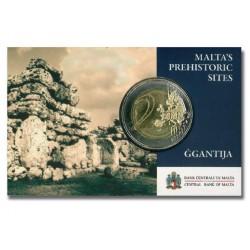 Malta 2 euro 2016 'Ggantija Tempels' met Frans muntteken (Hoorn)