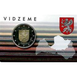 Letland 2 euro 2016 'Vidzeme'
