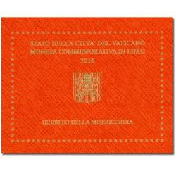 Vaticaan 2 euro 2016 in blister 'Barmhartigheid'