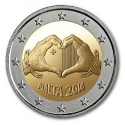 Malta 2 euro 2016 'Liefde' - zonder muntteken