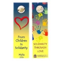 Malta 2 euro 2016 'Liefde' - met Frans muntteken (Hoorn)