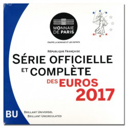 Frankrijk BU-Set 2017