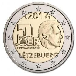 Luxemburg 2 euro 2017 '50 jaar Vrijwillige leger'