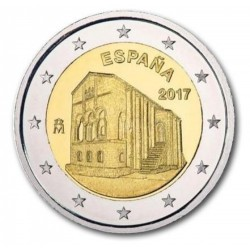 Spanje 2 euro 2017 'Asturie - Santa Maria del Naranco'