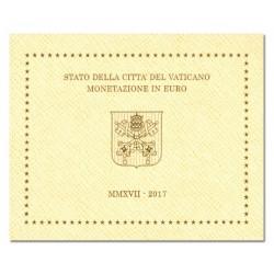 Vaticaan BU-Set 2017 'Paus Franciscus', met nieuw ontwerp euromunten!