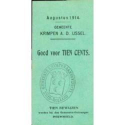 Krimpen a/d IJssel 10 cent 1914