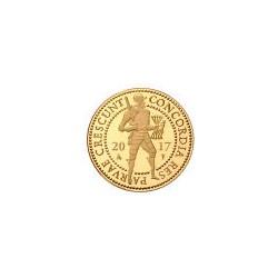 Koninkrijksmunten Nederland Gouden dubbele dukaat 2017