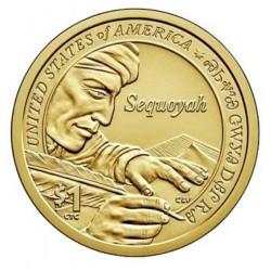 USA $1 Native Dollar 2017 'Sequoyah'
