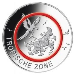 Duitsland 5 euro 2017 'Tropische zone'