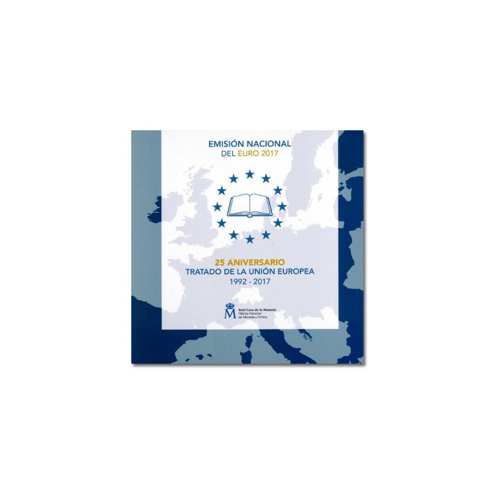 Spanje BU-Set 2017 '25e verjaardag Europese Unie' incl. 2 euro Asturie