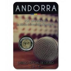 Andorra 2 euro 2016 'Radio'
