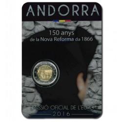Andorra 2 euro 2016 'Hervormingen'