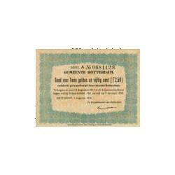 Rotterdam 2½ gulden 1914