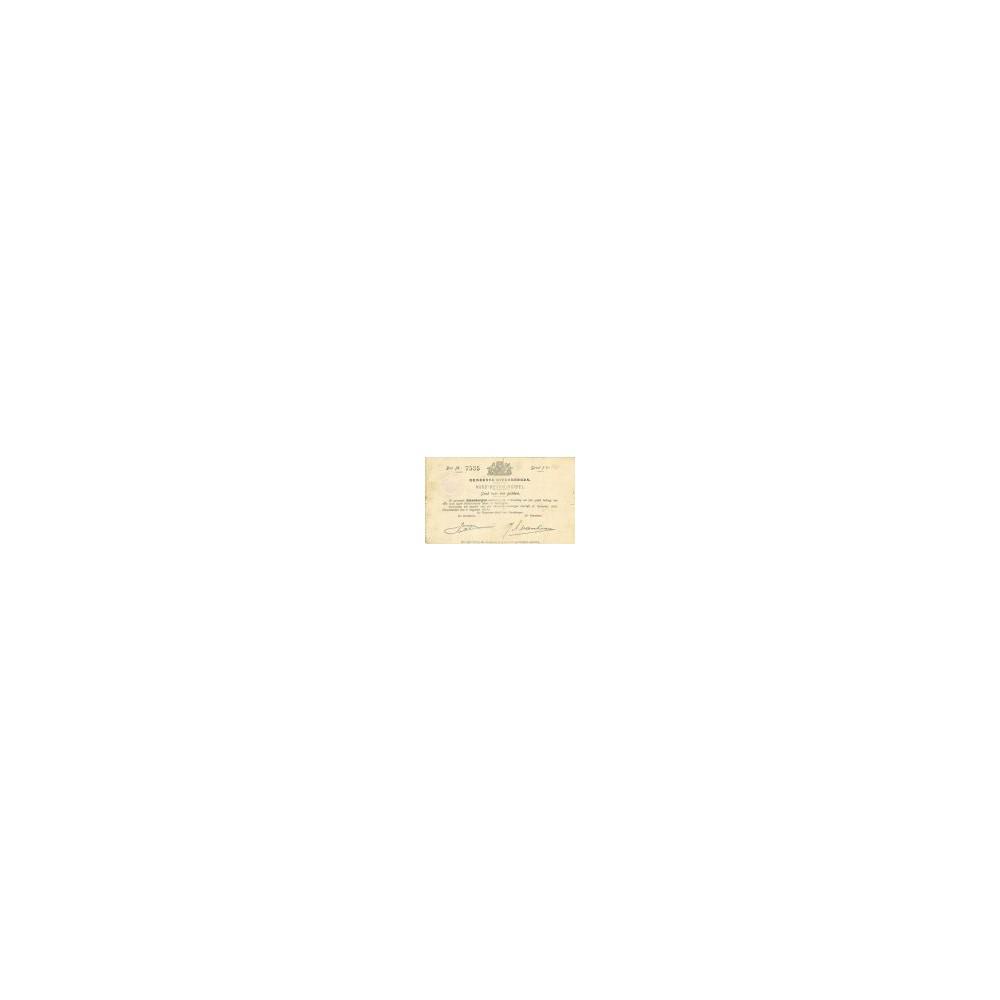 Steenbergen 1 gulden 1914