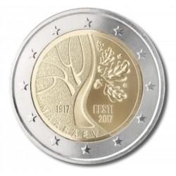Estland 2 euro 2017 '100 jaar onafhankelijkheid'