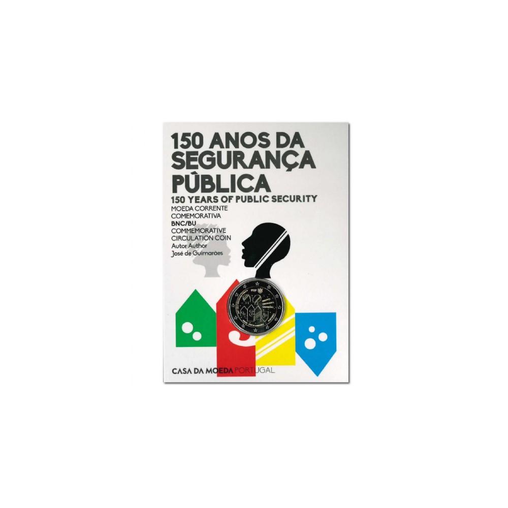 Portugal 2 euro 2017 '150 jaar politie'