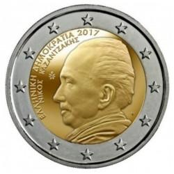 Griekenland 2 euro 2017 'Kazantzakis'
