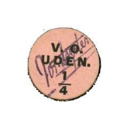 Uden ¼ punt 1915